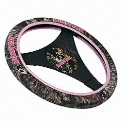 Steering Wheel Cover Mossy Oak Breakup/Pink