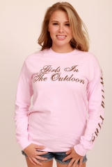 Girls in the Outdoors Pink LongSleeve