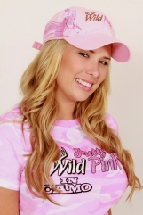 Pink Embrodiered Horse Cap