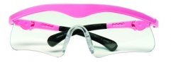 Adjustable Pink Safety Glasses