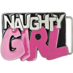 Naughty Girl Belt Buckle